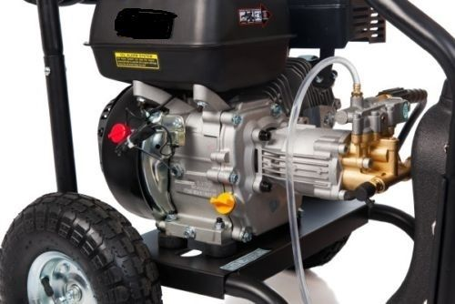 NEW BLACK JET HIGH PRESSURE WATER WASHER CLEANER 8 HP SELF SUCTION GURNEY