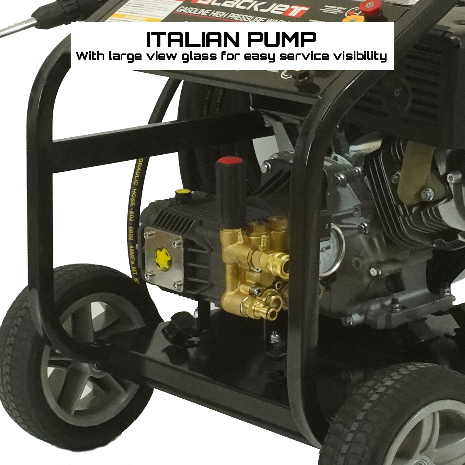 20 Hp High Pressure Water Washer Cleaner 5000 Psi Self